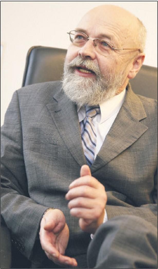 """Stanisław Dąbrowski, pierwszy prezes Sądu Najwyższego, członek kapituły nagrody """"DGP"""" Bona Lex i Złoty Paragraf Fot. Wojciech Górski"""