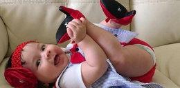 To już szczyt. Zakładają niemowlakom takie buty. Powariowały?