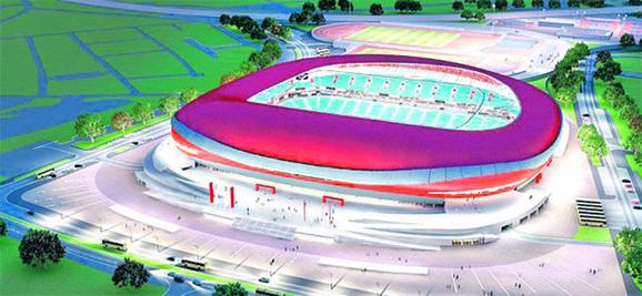 Ovako bi trebalo da izgleda Nacionalni stadion Fudbalskog saveza Srbije