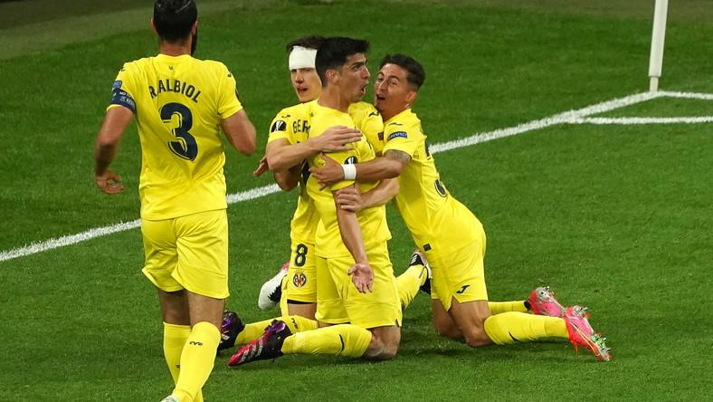 Radość piłkarzy Villarreal