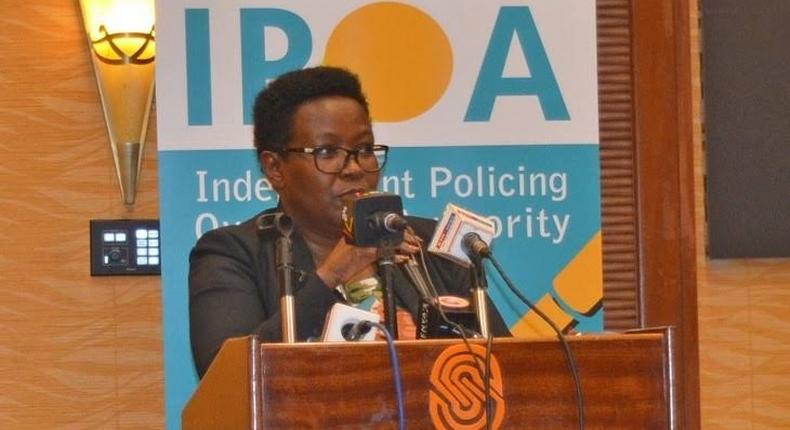 IPOA Chairperson Anne Makori