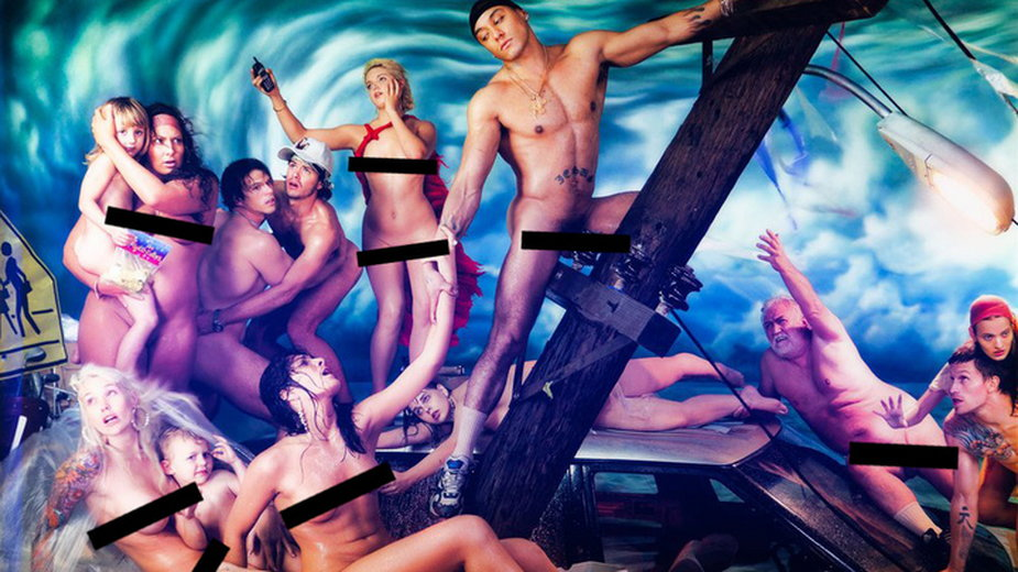 "David LaChapelle, ""Potop"" (2006/2012; fragment)"