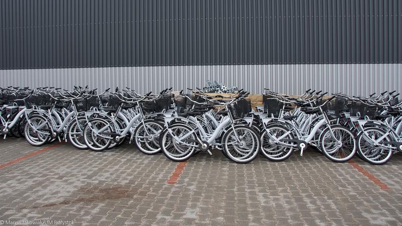 Białystok: Nowe stacje, nowe rowery. Ostatnie przygotowania do sezonu