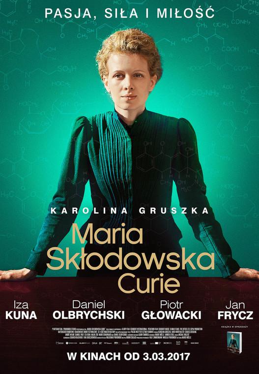 """Plakat do filmu """"Maria Skłodowska-Curie"""""""