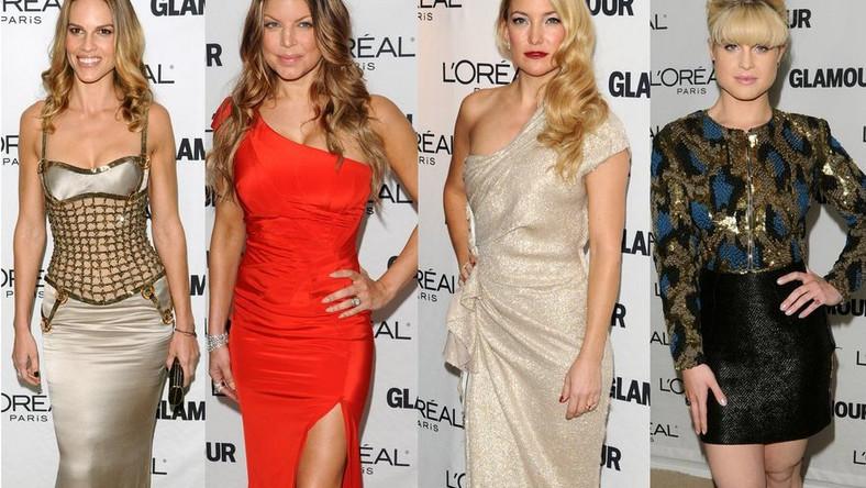 Kreacje gwiazd na nowojorskiej gali Glamour