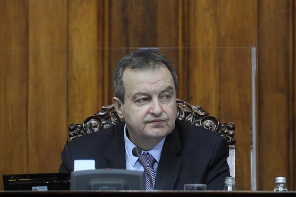 Dačić: Parlament dao doprinos pozitivnom izveštaju Evropske komisije