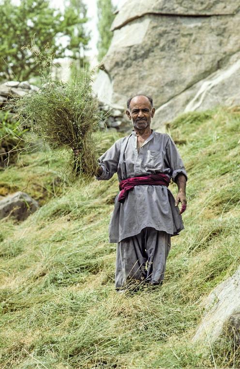 Członek plemienia Hunza