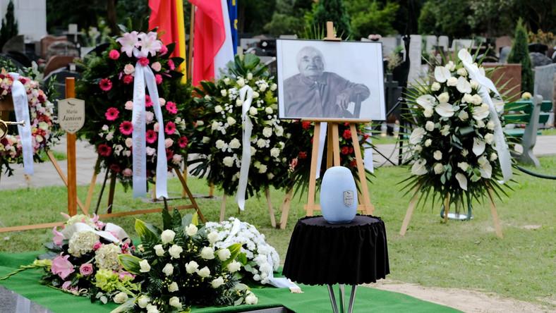 Pogrzeb profesor Marii Janion