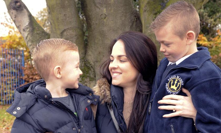 Aimee Willett spędzi ostatnie święta ze swoimi synkami