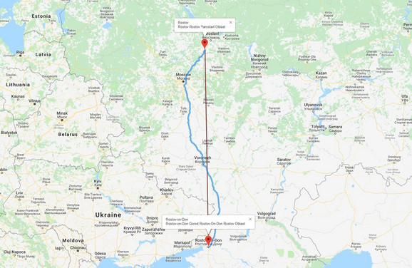 Dva Rostova uopšte nisu blizu