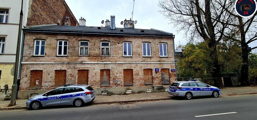 Szukał toalety na warszawskiej Pradze, wszedł do pustostanu i... zamarł
