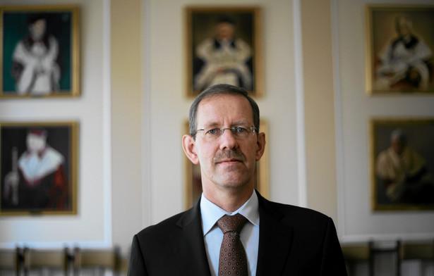 Prof. Marcin Pałys, rektor Uniwersytetu Warszawskiego