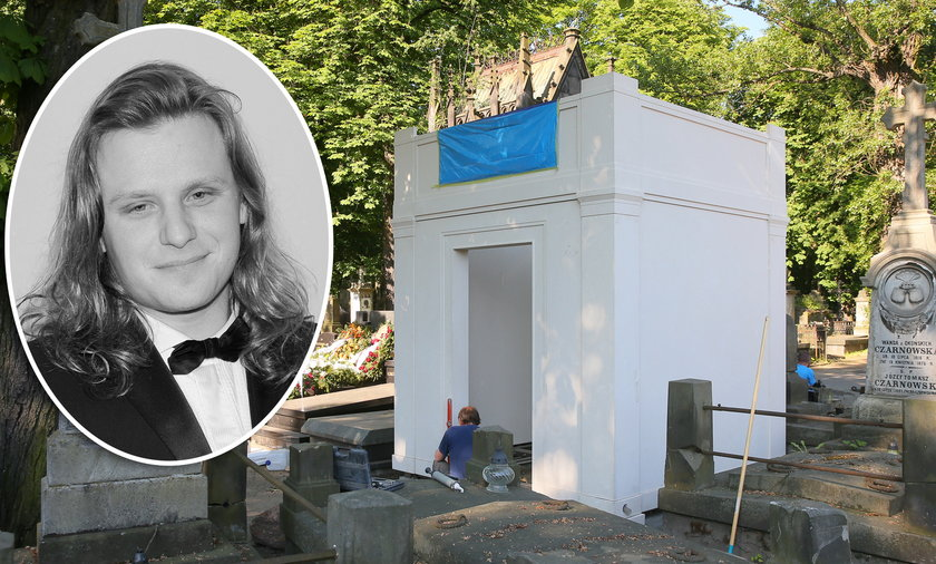 Rodzina buduje mauzoleum dla Piotra Woźniaka-Staraka.