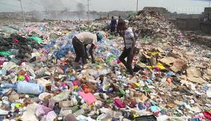 What if we paved roads with plastic trash?