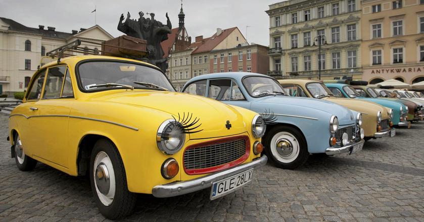 Syreniada – zlot właścicieli aut marki Syrena w 2014 roku
