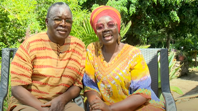We sneaked out of Drama Fest to get married - former teachers celebrate 36th anniversary