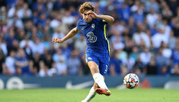 Chelsea's Spanish defender Marcos Alonso will no longer take the knee before matches Creator: Glyn KIRK