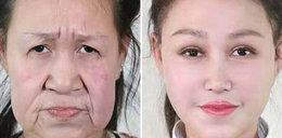 15-latka wyglądała jak własna babcia. Przeszła metamorfozę