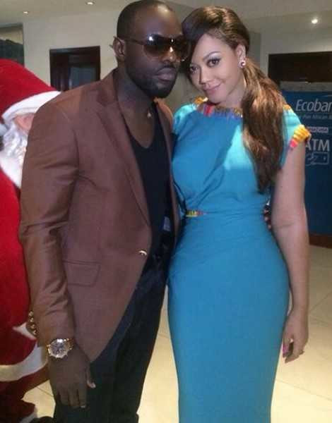 In a recent interview, Iyke revealed that he was never in a relationship with Nadia Buari, claiming that the relationship was based on the script for his reality show [PeaceFM]