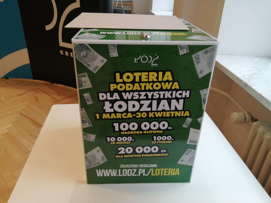 Loteria z nagrodami dla płacących podatki w Łodzi