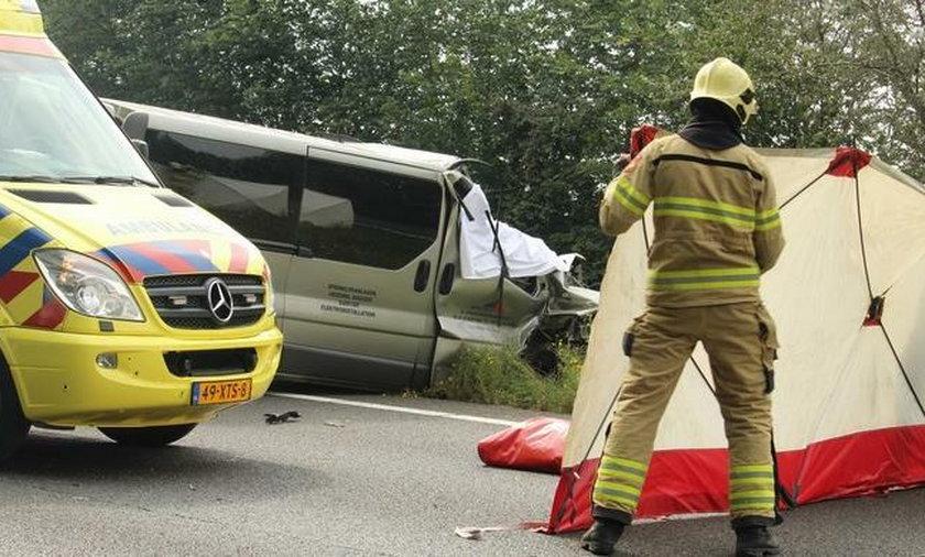 Tragiczny wypadek z udziałem polskiego busa w Holandii