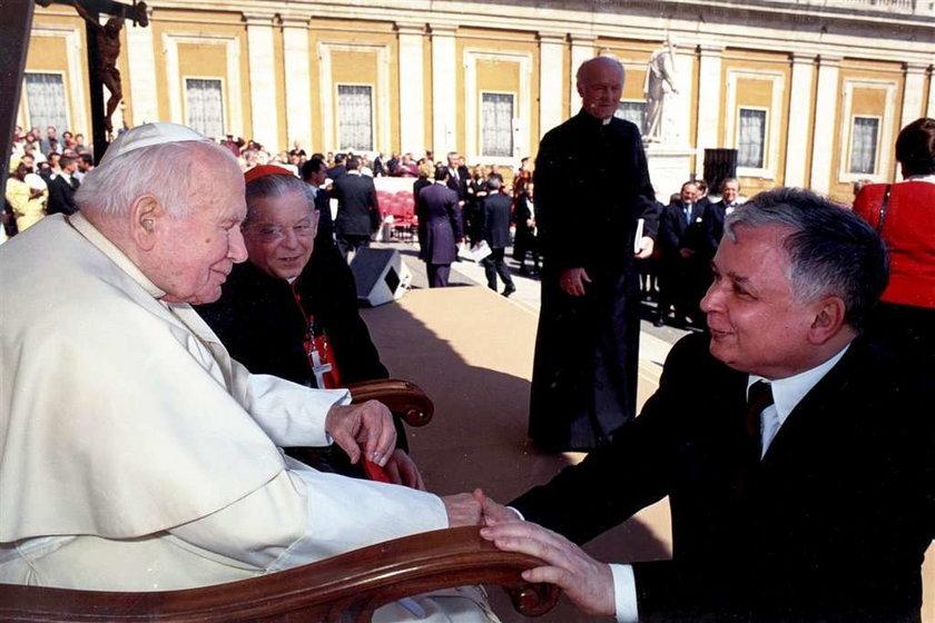 Lech Kaczyński: Papież, mój nauczyciel!