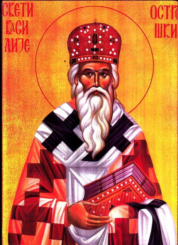 Episkop se s vernicima oprostio na dan Svetog Vasilija Ostroškog