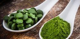 1 gram tych alg działa jak kilogram warzyw!