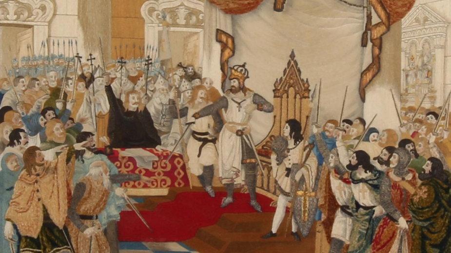 Afonso zostaje koronowany i ogłoszony pierwszym królem Portugalii