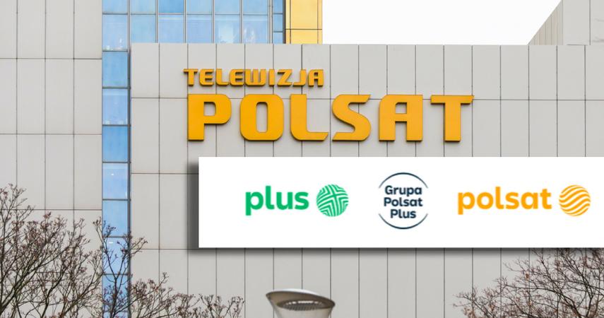 Polsat i Plus zyskają nowe logotypy