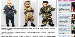Przebrała dziecko za Stalina i Hitlera