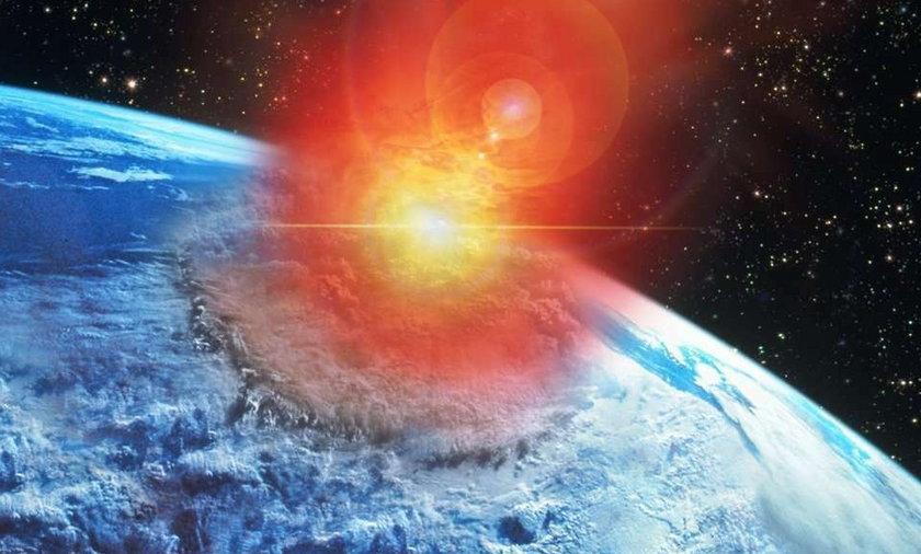KONIEC ŚWIATA! Ogromna asteroida uderzy w Ziemię?!