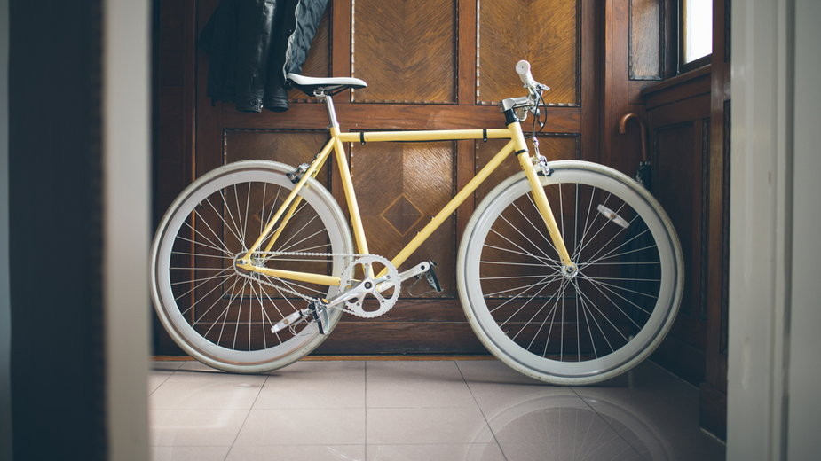Jak przechować rower w mieszkaniu?