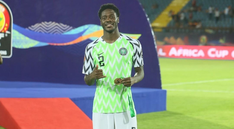 Super Eagles defender Ola Aina pulls out of the friendly game against Brazil due to an injury