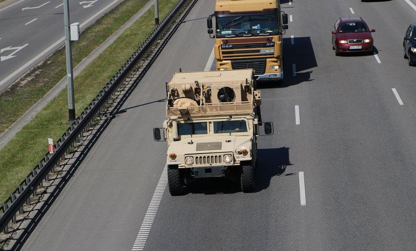 Amerykzńscy żołnierze w Polsce
