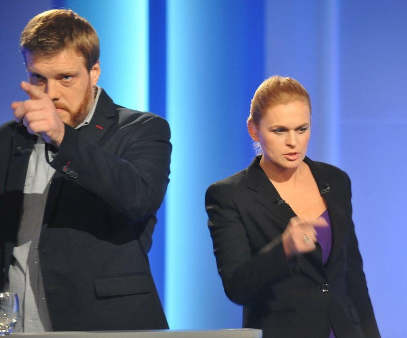 Barbara Nowacka i Adrian Zandberg