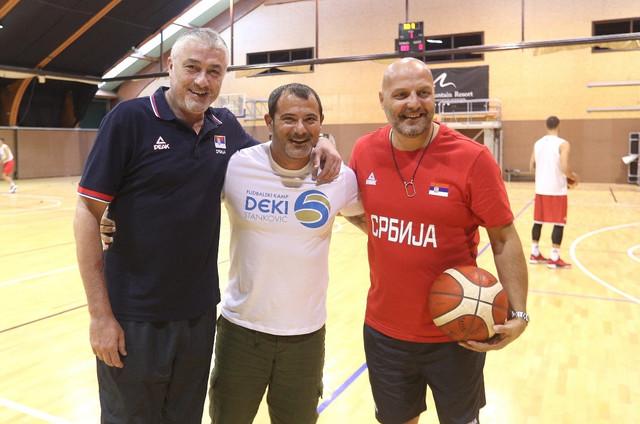 Predrag Danilović, Dejan Stanković i Aleksandar Đorđević