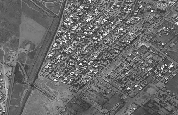 Lotnisko w Kabulu, zdjęcie satelitarne
