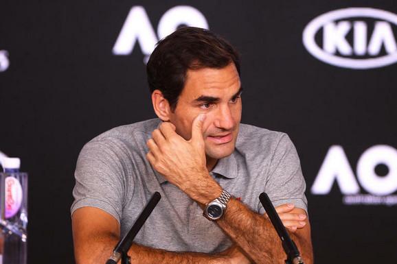 UDARNA TENISKA VEST, Federer odlučio - bez borbe predaje krunu na mastersu, gubi puno bodova i petu poziciju! Posle ovoga se treba vratiti!