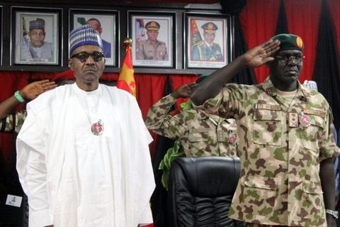 President Muhammadu Buhari's past as a military dictator has brought extra scrutiny on his command of the Nigerian Army