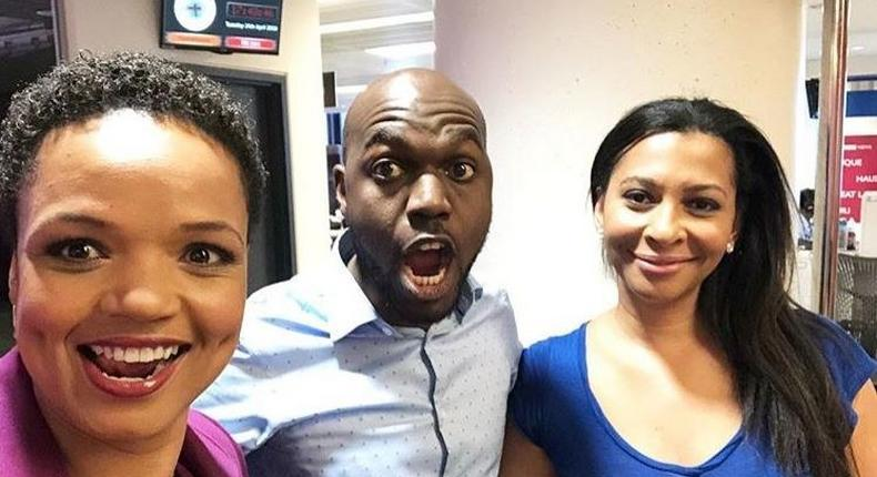 Put a ring on it – Larry Madowo told after sharing photo with gorgeous news anchor