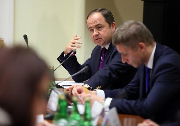 Sekretarz stanu w Ministerstwie Spraw Zagranicznych ds. europejskich Konrad Szymański