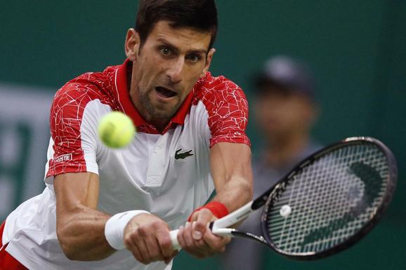 Novak Đoković tokom šangajskog finala