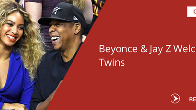 Pop singer and Jay Z reportedly welcome twins!