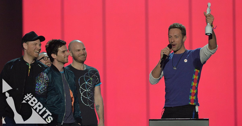Coldplay najlepszym brytyjskim zespołem