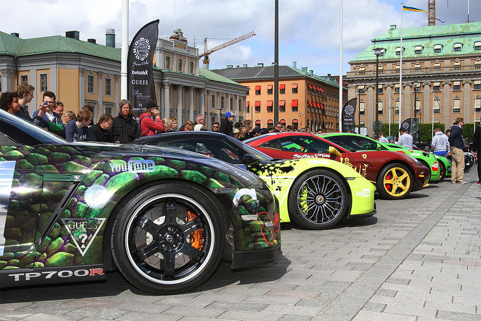 Gumball 3000 do Las Vegas