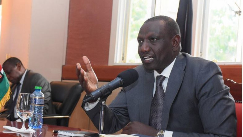 File image of DP Ruto at a past event