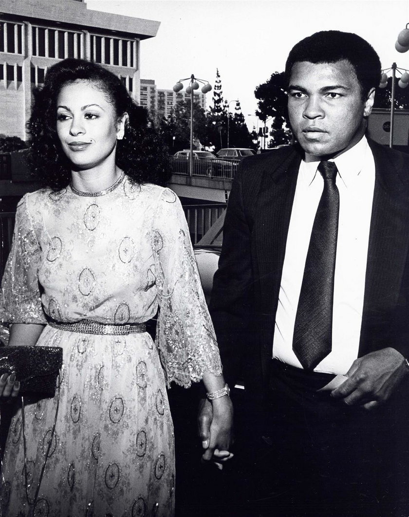 Muhammad Ali z byłą żoną Veraniką