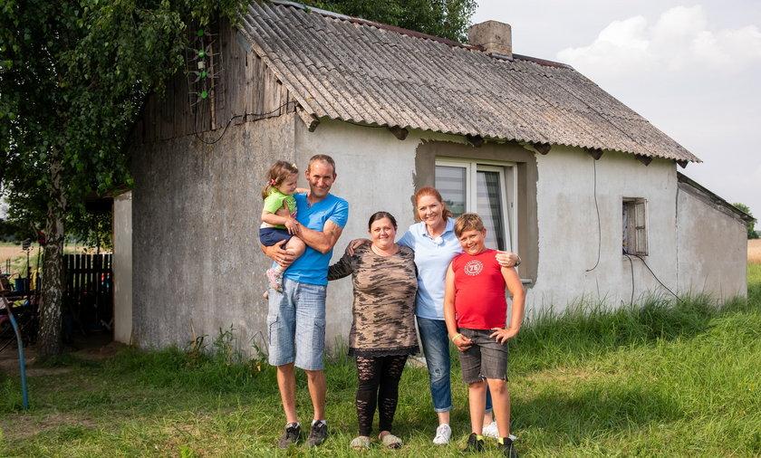 Rodzina pani Patrycji może zapomnieć o życiu w rozpadającym się domu.