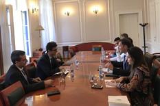 Sastanak Ministar Siniša Mali i Sebastijan Sosa